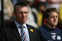 Photo: Pete Lorence/Richard Lane Photography. <br /> Watford v Scunthorpe United. Coca-Cola Championship. 26/04/2008. <br /> Scunthorpe manager, Nigel Adkins before the match.