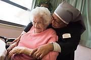 GALLUP, New Mexico: Images from the Villa Guadalupe Home located n Gallup, New Mexico. The Little Sisters of the Poor operate the home for service to the elderly poor in following the example of Saint Jeanne Jugan, foundress.