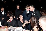 BEN DREW; ( PLAN B ); GEORGIE ATHERTON; SIR ELTON JOHN; DAVID FURNISH; , Grey Goose Winter Ball to Benefit the Elton John AIDS Foundation. Battersea park. London. 29 October 2011. <br /> <br />  , -DO NOT ARCHIVE-&copy; Copyright Photograph by Dafydd Jones. 248 Clapham Rd. London SW9 0PZ. Tel 0207 820 0771. www.dafjones.com.