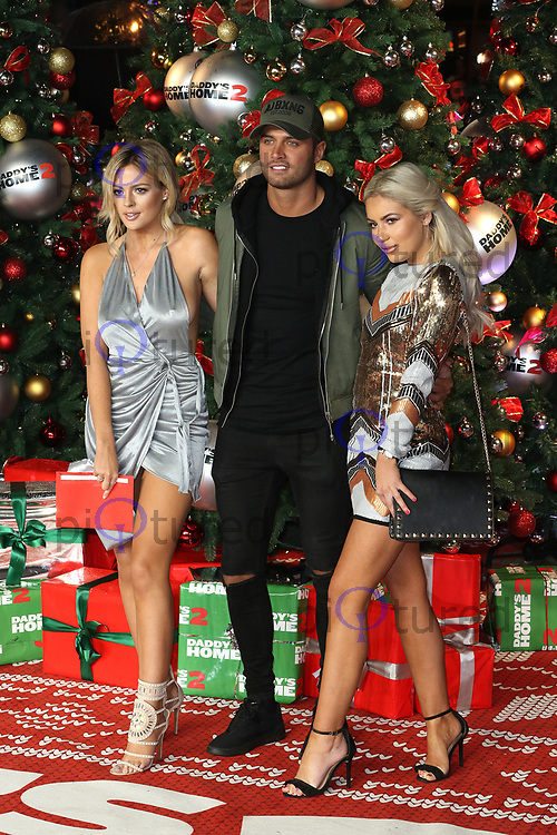 Danielle Sellers, Mike Thalassitis, Chyna Ellis, Daddy's Home 2 - UK Premiere, Leicester Square, London UK, 16 November 2017, Photo by Richard Goldschmidt