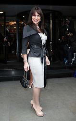 Linda Lusardi  arriving for the Television and Radio Industries Club awards in London, Tuesday 13th March 2012. Photo by: Stephen Lock / i-Images