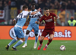 March 2, 2019 - Rome, Lazio, Italy - SS Lazio v As Roma : Serie A.Aleksandar Kolarov of Roma at Olimpico Stadium in Rome, Italy on March 2, 2019. (Credit Image: © Matteo Ciambelli/NurPhoto via ZUMA Press)