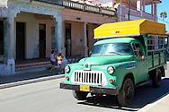 Truck in San Luis, Pinar del Rio, Cuba.