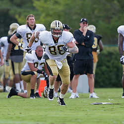 01 August 2009: New Orleans Saints tight end Jeremy Shockey (88) runs a route during New Orleans Saints training camp at the team's practice facility in Metairie, Louisiana.