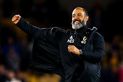 Wolverhampton Wanderers manager Nuno celebrates victory over Arsenal - Mandatory by-line: Robbie Stephenson/JMP - 24/04/2019 - FOOTBALL - Molineux - Wolverhampton, England - Wolverhampton Wanderers v Arsenal - Premier League
