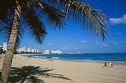 San Juan, Puerto Rico: beach and resort hotels at Isla Verde.