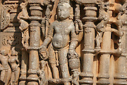 India, Religious art,  Laksmana temple wall erotic scene
