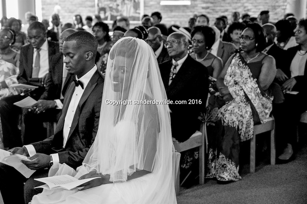 Genval, Belgium 25  Juin 2016 Marriage de Gisèle Kantengwa and Davis Gasangwa at Genval, Belgium