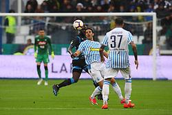 Foto LaPresse/Filippo Rubin<br /> 12/05/2019 Ferrara (Italia)<br /> Sport Calcio<br /> Spal - Napoli - Campionato di calcio Serie A 2018/2019 - Stadio &quot;Paolo Mazza&quot;<br /> Nella foto: SERGIO FLOCCARI (SPAL)<br /> <br /> Photo LaPresse/Filippo Rubin<br /> May 12, 2019 Ferrara (Italy)<br /> Sport Soccer<br /> Spal vs Napoli - Italian Football Championship League A 2018/2019 - &quot;Paolo Mazza&quot; Stadium <br /> In the pic: SERGIO FLOCCARI (SPAL)