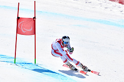 PAJANTSCHITSCH Nico LW6/8-2 AUT competing in ParaSkiAlpin, Para Alpine Skiing, Super G at PyeongChang2018 Winter Paralympic Games, South Korea.