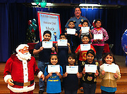 Sherman ES third-graders had lunch recently with HISD Assistant Chief of Police Robert Mock as part of the Kids with Character HISD police mentoring program. They discussed character traits such as honesty and trustworthiness.<br /> To submit photos for inclusion in eNews, send them to hisdphotos@yahoo.com.