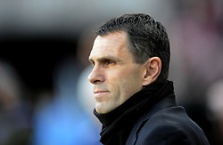 Sunderland Manager, Gustavo Poyet looks on - Photo mandatory by-line: Richard Martin-Roberts/JMP - Mobile: 07966 386802 - 21/02/2015 - SPORT - Football - Sunderland - Stadium of Light - Sunderland v West Bromwich Albion - Barclays Premier League
