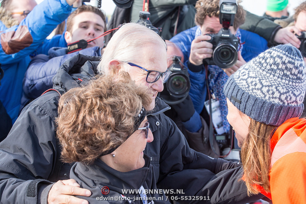 NLD/Biddinghuizen//20170305 - De Hollandse 100 - Stichting Lymph & Co 2017, Prinses Margriet en partner Meester Pieter van Vollenhoven