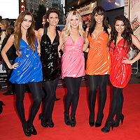 London Oct 7th  The Saturday attend the UK premiere of 'High School Musical 3' at the Empire cinema, Leicester Square on October 7, 2008 in London, England.