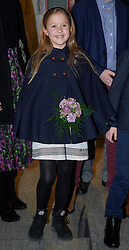 Royal Danish Crownprince Family Crown Princess Mary with man Crownprince Fredrik and all four children attended the annual Christmas concert, Danish Music Conservatory's children's choir on saturday. 08 Dec 2018 Pictured: Princess Josephine of Denmark. Photo credit: hbgbild / MEGA TheMegaAgency.com +1 888 505 6342
