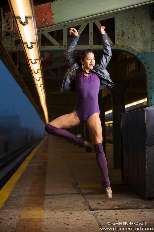 Sylvana Tapia New York City Subway Dance As Art Photography