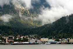 Downtown Juneau, Alaska, United States of America