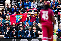 West Indies fans celebrate after Chris Gayle of West Indies  hits a boundary - Mandatory by-line: Robbie Stephenson/JMP - 14/06/2019 - FOOTBALL - Hampshire Bowl - Southampton, England - England v West Indies - ICC Cricket World Cup 2019 group