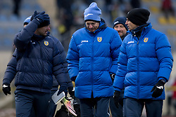Simon Rozman, head coach of NK Domzale during football match between NK Domzale and NK Aluminij in Round #24 of Prva liga Telekom Slovenije 2017/18, on March 18, 2018 in Sports park Domzale, Domzale, Slovenia. Photo by Urban Urbanc / Sportida