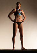 2004 Olympic Beach Volleyball Gold Medalist Kerri Walsh cover shoot for Dig Magazine.