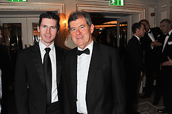 Left to right, JOHN MCMANUS and JP MCMANUS at the 22nd Cartier Racing Awards held at The Dorchester, Park Lane, London on 13th November 2012.
