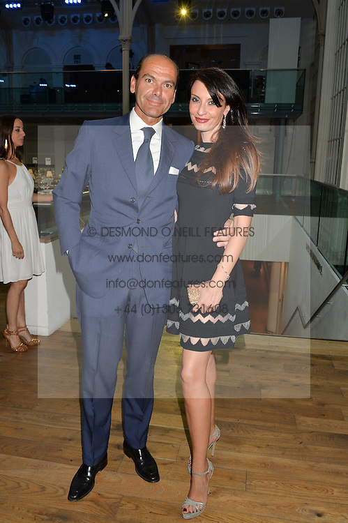 ALESSANDRA & AMEDEO SERRA at The Women for Women International & De Beers Summer Evening held at The Royal Opera House, Covent Garden, London on 23rd June 2014.