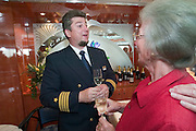 Goodbye Cocktail. Captain Michael Sze?kely...M.S. Johann Strauss, a brand new four star+ river cruiser operated by Austrian River Cruises, and chartered by Club 50 (a travel agency especially for seniors aged 50 and up) undertook an epic 3-week journey (May 21 to June 10, 2004) all the way from Amsterdam to the Black Sea?along Rhine, Main and Danube?, presumably the first passenger vessel ever to have done so. This is one of the images recorded during this historic voyage.