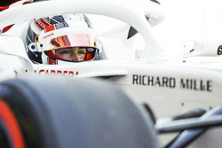 March 23, 2018 - Melbourne, Victoria, Australia - LECLERC Charles (mco), Alfa Romeo Sauber F1 Team C37, portrait during 2018 Formula 1 championship at Melbourne, Australian Grand Prix, from March 22 To 25 - Photo  Motorsports: FIA Formula One World Championship 2018, Melbourne, Victoria : Motorsports: Formula 1 2018 Rolex  Australian Grand Prix, (Credit Image: © Hoch Zwei via ZUMA Wire)