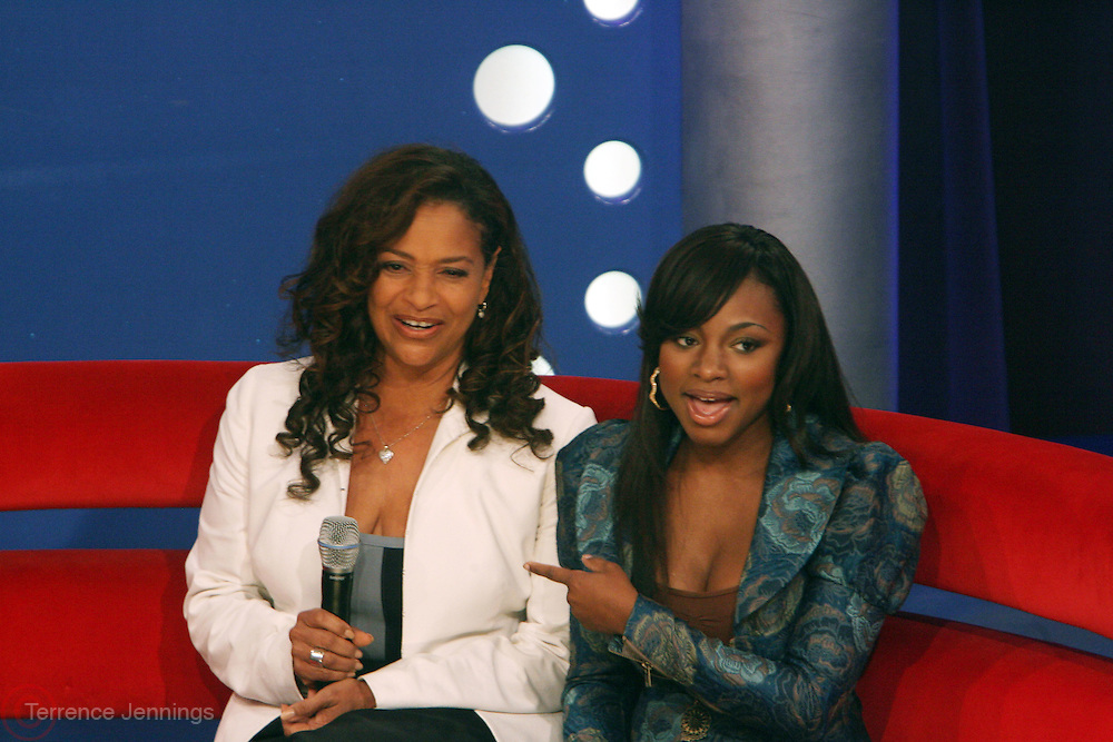 l to r:  Debbie Allen, and Naturi Naughton at the announcement for The 2009 BET HIP HOP Awards Nominees held at BET Studios on September 16, 2009 in New York City