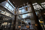 Lobby of the Wit Hotel in the Loop District in Chicago, IL.
