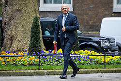 © Licensed to London News Pictures. 20/03/2018. London, UK. Secretary of State for Housing, Communities and Local Government Sajid Javid on Downing Street for the Cabinet meeting. Photo credit: Rob Pinney/LNP