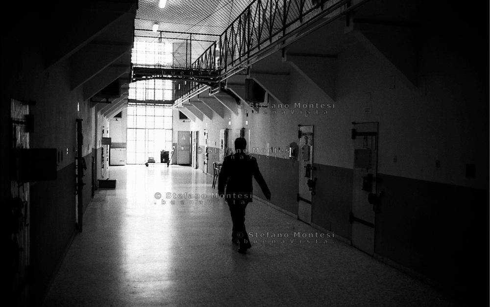 Roma 2000.Carcere di Regina Coeli  .Il VII braccio. Regina Coeli (Queen of Heaven) Prison..The VII section