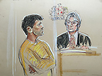 Navinder Sarao at Westminster Magistrates Court.<br />