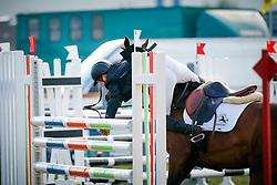Nationaal Kampioenschap Jonge Paarden<br /> Stal Hulsterlo - Meerdonk 2010<br /> © Dirk Caremans