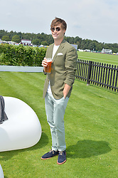DOUGLAS BOOTH at the Audi International Polo at Guards Polo Club, Windsor Great Park, Egham, Surrey on 26th July 2014.