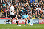 Sheffield Wednesday midfielder Barry Bannan during the Sky Bet Championship match between Derby County and Sheffield Wednesday at the iPro Stadium, Derby, England on 23 April 2016. Photo by Jon Hobley.