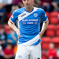 St Johnstone FC… Season 2016-17<br />Steven MacLean<br />Picture by Graeme Hart.<br />Copyright Perthshire Picture Agency<br />Tel: 01738 623350  Mobile: 07990 594431
