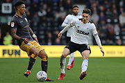 Derby County midfielder Harry Wilson during the EFL Sky Bet Championship match between Derby County and Sheffield Wednesday at the Pride Park, Derby, England on 9 March 2019.