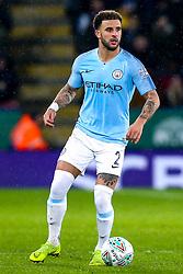 Kyle Walker of Manchester City - Mandatory by-line: Robbie Stephenson/JMP - 18/12/2018 - FOOTBALL - King Power Stadium - Leicester, England - Leicester City v Manchester City - Carabao Cup Quarter Finals