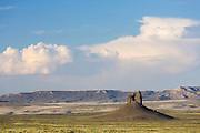 "The ""Boar's Tusk"" in the Red Desert of Wyoming"