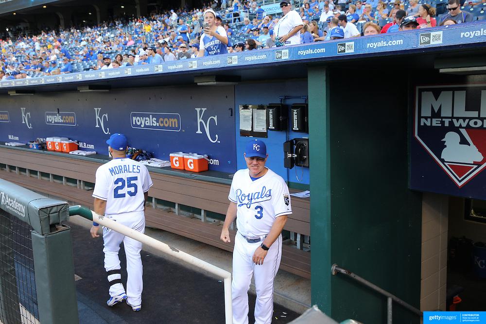 Kansas City Royals Vs Detroit Tigers Kauffman Stadium, Kansas, Missouri, USA. 9th August 2015. Photo Tim Clayton