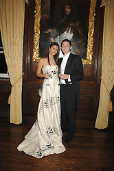 NICOLA KRISTENSEN and her brother MARTIN KRISTENSEN at the 2008 Berkeley Dress Show at the Royal Hospital Chelsea, London on 3rd April 2008.<br /><br />NON EXCLUSIVE - WORLD RIGHTS