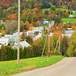 Cabot, Vermont in fall.  Northeast Kingdom.