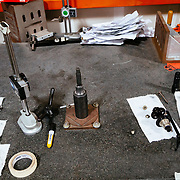Frame testing jig to verify that recent frame shipments are within Ibis specifications.