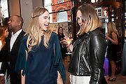 SUKI WATERHOUSE; EMILY SYKES,  Vogue Fashion night out.- Alexandra Shulman and Paddy Byng are host a party  to celebrate the launch for FashionÕs Night Out At Asprey. Bond St and afterwards in the street. London. 8 September 2011. <br />  <br />  , -DO NOT ARCHIVE-© Copyright Photograph by Dafydd Jones. 248 Clapham Rd. London SW9 0PZ. Tel 0207 820 0771. www.dafjones.com.<br /> SUKI WATERHOUSE; EMILY SYKES,  Vogue Fashion night out.- Alexandra Shulman and Paddy Byng are host a party  to celebrate the launch for Fashion's Night Out At Asprey. Bond St and afterwards in the street. London. 8 September 2011. <br />  <br />  , -DO NOT ARCHIVE-© Copyright Photograph by Dafydd Jones. 248 Clapham Rd. London SW9 0PZ. Tel 0207 820 0771. www.dafjones.com.
