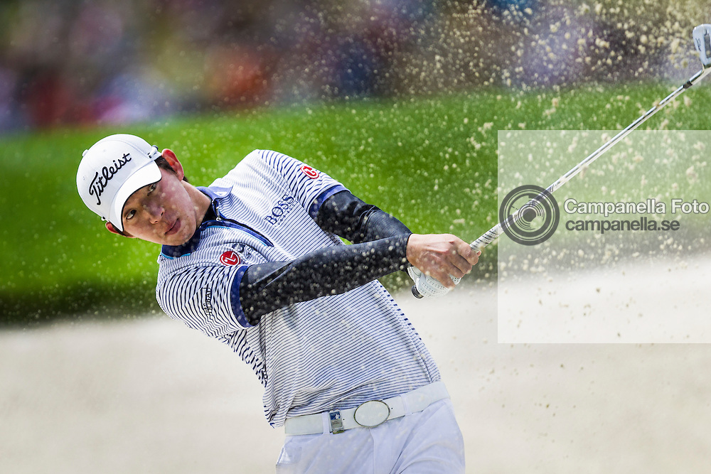 Bro 2011-07-23: <br /> <br /> Seung-yul Noh in action at the Nordea Scandinavian Masters. <br /> <br /> (Photo: Michael Campanella / Pic-Agency)
