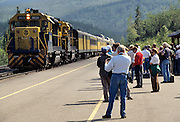 Park Visitors, Visitors, Alaska Railroad, Railroad, Train, Summer, Denali National Park, Alaska
