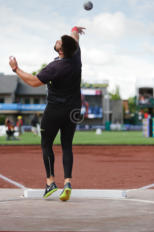 Cory Martin, Shot Put, Olympic Trials Eugene 2012