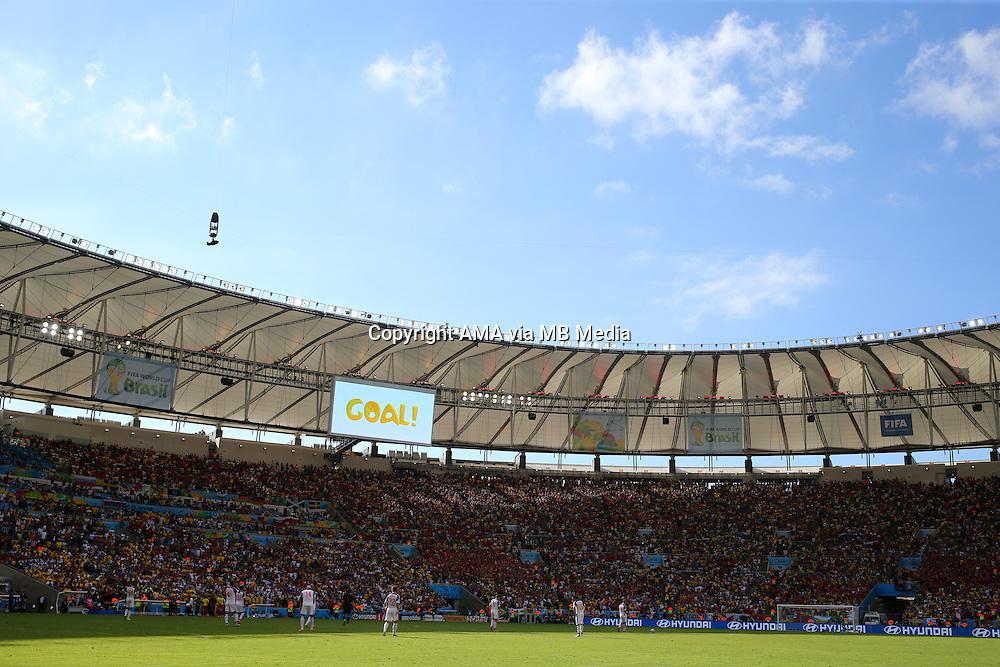 Dejected players of Russia after Belgium scored the last minute winning goal in the Estadio do Maracana stadium - Estadio Jornalista Mario Filho - ost venue of the FIFA 2014 World Cup