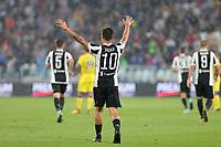 09.09.2017 - Torino - Serie A 2017/18 - 2a giornata  -  Juventus-Chievo nella  foto: Paulo Dybala esulta dopo il gol